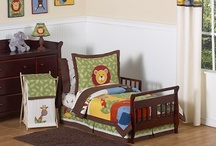 Toddler Boy Bedding / Toddler boy bedding sets with matching room decor / by Kids Room Treasures