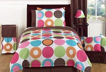 Little Girl's Bedding Sets / Girl bedding sets with matching room decor / by Kids Room Treasures