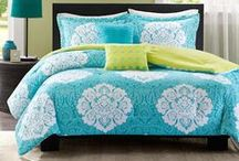 Teen Girl Bedding Sets / Teen girl bedding sets with matching room decor / by Kids Room Treasures