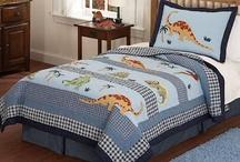 Dinosaur Bedroom / Dinosaur boys bedding sets plus matching bedroom decor. / by Kids Room Treasures