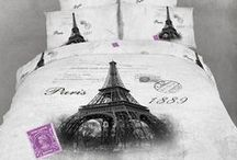 Eiffel French Style Bedroom / Eiffel Tower and Paris themed bedding sets and matching room decor are offered as rare and highly sought after designer duvet cover sets that are sure to make your French inspired bedroom look unique! / by Kids Room Treasures