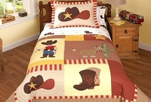 Western Style Bedroom / Western cowgirl and cowboy style bedding sets for girls and boys plus matching bedroom decor. / by Kids Room Treasures