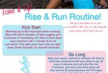 Workouts | Running + Intervals / by Kristyn