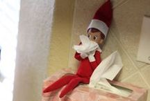 ELF ON THE SHELF / Elf on the Shelf (or Elf on A Shelf) is a fun holiday tradition you can adapt any way you like! The premise is simple--your own special elf comes to visit your house over the holiday season and shows up in a new spot each morning after visiting the North Pole each night. Some elves occasionally bring crafts, treats, or other surprises. Some elves get into mischief or report back to Santa whether children are good or naughty. Do whatever you like--it's your Elf, have fun with it! :) / by Home Hardware Lloydminster