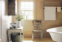 farmhouse bath / by Lori Brechlin