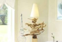 Driftwood Decor / Interiors with driftwood decor.  / by Completely Coastal