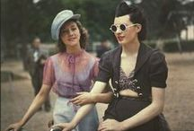 Vintage Colour Photographs / Primarily '30s–'50s full-colour photographs. / by Muckney