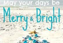 Christmas by the Beach / Photographs, art, greeting cards, and more. Celebrating Christmas by the beach.