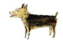 Paper Pets / illustrated dogs and cats to adopt http://elizabethgraeber.com/Dogs-Cats