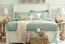 Coastal Bedrooms / Bedrooms with a coastal, nautical and beach theme.