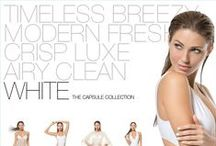 White: The Capsule Collection / White is a color synonymous with a resort lifestyle. White instantly conjures sun-kissed skin, an exotic locale, timeless style. At once it is pure and simple, easy and carefree, glamorous and sexy. Everything But Water's newest capsule collection, in partnership with the most exciting designers in swim and resortwear, celebrates the color white and all it evokes. White is a wardrobe staple for a fashionable beach getaway.  Browse the collection a www.everythingbutwater.com/whitedelights