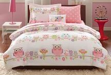 Owl and Woodland Theme Bedrooms / Popular bedding with owls and woodland animals. / by Kids Room Treasures