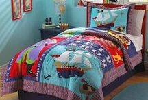 Pirate Bedrooms / Pirate bedding and accessories. / by Kids Room Treasures