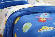 Outer Space Universe Rockets & Aliens Bedrooms / Space rockets, UFOs, aliens and stars for the little space explorers. / by Kids Room Treasures