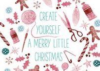 create yourself a merry little christmas / Für dieses Board können keinen weiteren Leute aufgenommen werden. Es ist Teil eines Blogger-Adventskalenders!