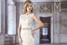 Illusion Neckline | Wedding Gown / by Mary's Bridal