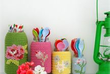 Crochet - basics, stitches, small gifts, decoration et aliter. For clothes etc see other panel / by Bettina Meister