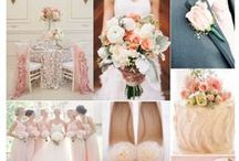 Pink Wedding Colors . . . / How about gowns in pink hues?  / by Mary's Bridal