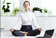 Office Yoga / Here you will find inspiring tips for relaxing office yoga sessions and healthy exercises. Enjoy!