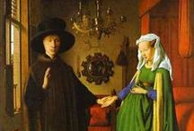 Medieval clothes in paintings & sculpture / Inspiration from contemporary paintings and pictures