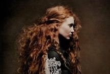 Hair styles & art / Inspiration board about hairstyling