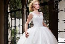 Detachable Trains or Two Dress Option | Wedding Gown / by Mary's Bridal