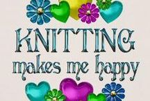 KNITTING- CUTE SAYINGS & PICTURES / by Lizabeth Barner