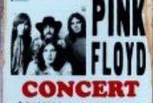 Rock Concert Posters / Geweldige Rock Concert Posters op Metaal