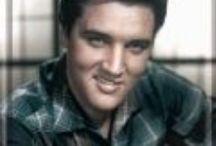 Elvis Presley / Mooie afbeeldingen op metalen borden van Elvis Presley