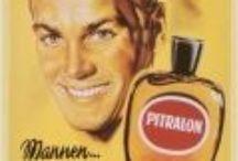 Bath, Soap & Parfum / Leuke afbeeldingen op metaal voor in de badkamer of kapsalon