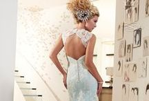 Open-back wedding dresses / by Mary's Bridal