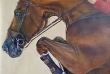 Horses / Horses painted by Elena Brindani
