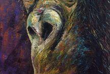 Wildlife / Wildlife animals painted by Elena Brindani