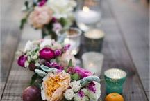 Wedding Centerpieces / From classic to create, we're pinning our favorite wedding centerpieces.