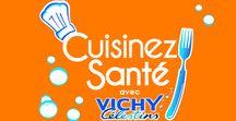 CUISINEZ SANTÉ ! / Découvrez les #recettes santé du Chef du #VICHY CÉLESTINS SPA HÔTEL ! Une cuisine qui préserve les minéraux , permet de mieux équilibrer la teneur en sel et de mieux digérer. Trop salée l'eau Vichy Célestins ? Halte aux idées reçues ! L'eau #VichyCelestins est une eau riche en bicarbonates de sodium (2 989 mg/l), à ne pas confondre avec le sel (chlorure de sodium). Faites-vous plaisir ! #Recetteminceur, #recettedétox...