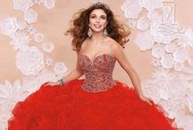 Quinceanera Red Color Ideas / by Mary's Bridal
