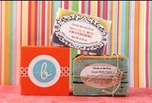 Soap packaging ideas / by Rata C