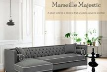 Sofas - Classy Choice / Something more and special for your luxurious home, Sofa, sofa tables, multi purpose sofa bed and ideas for sofa table decor
