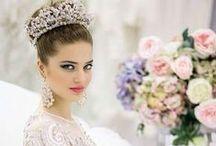 Свадебные короны, диадемы, тиары