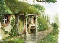 hobitt 's houses / by nathalie boulay