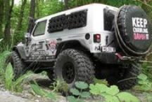"""Crowley Axial Scx10 Jeep Wrangler Unlimited Rubicon / This is the timeline of Crowley an Axial Scx10 Jeep Wrangler Unlimited Rubicon. From """"out of the box"""" RTR until now. / by Remote Addicted"""