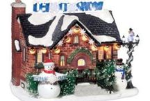 Department 56 / I want to make memories for my children and grandchildren, they love my displays at Xmas, one added every year for them to find / by Jane Bull, U.K