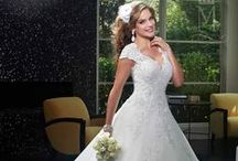Spring 2016 new styles have been added to the gown collection. / The latest 2016 collection at Mary's Bridal features dresses with gorgeous silhouettes, refined accesnts, floral lace, elegant backs, and signature trains.  / by Mary's Bridal