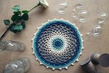 crochet mandala and granny squares patterns