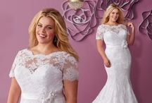 Best picks for the curvy brides / Mary's Bridal designer gowns in sizes that fit the bodies of real women. / by Mary's Bridal