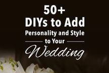 DIY: Wedding Tips / Ideas to personalize your wedding. / by Mary's Bridal