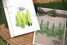 Whispering Pines - Tree Stamp set by Newton's Nook Designs
