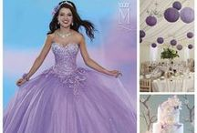 Quinceanera Light Purple Ideas / by Mary's Bridal