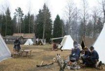 Medieval life &camping