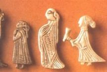 Viking finds / Textile fragments, iron and metalwork, and weaving technics etc